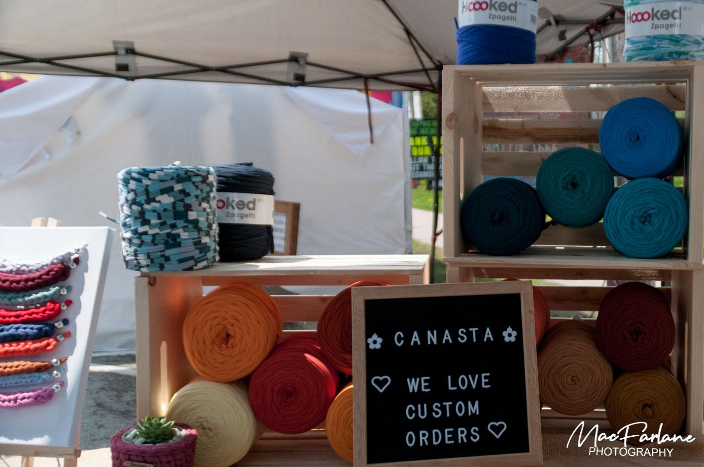 Canasta yarn