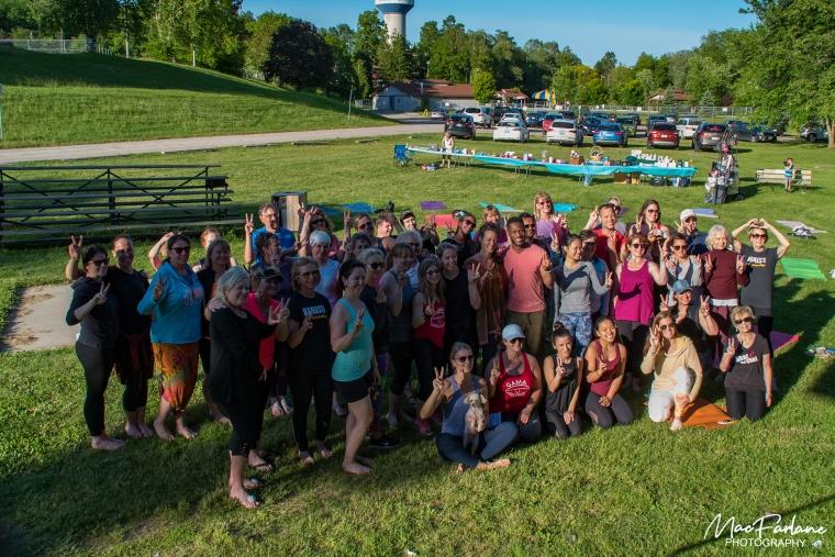 group shot of participants