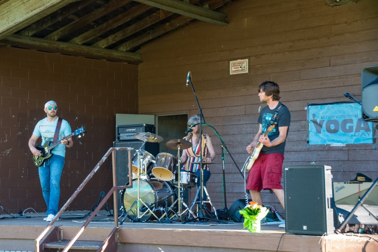 Band that opened the event